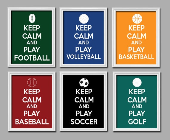 Keep Calm And Play Soccer Soccer Football Sports Qhd: Your Place To Buy And Sell All Things Handmade
