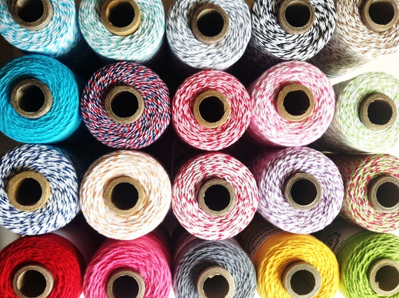 Twine ,  (50 yards) Divine twine , quality bakers twine , craft twine , strings , the twinery