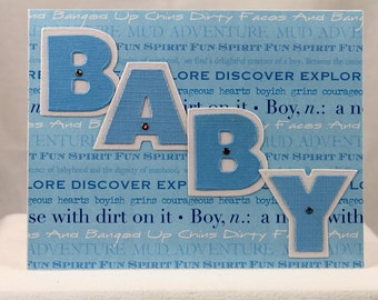 Baby Boy Greeting Card 1