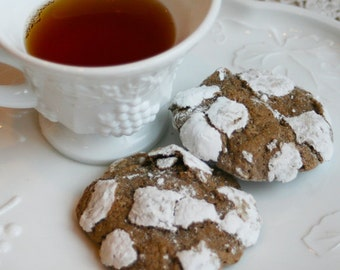 Chocolate Crinkles (TWO DOZEN)