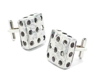 Pewter Cuff Links - Nathem (TRA Collection)