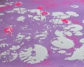 Water Lilies - Light Purple/ Pink