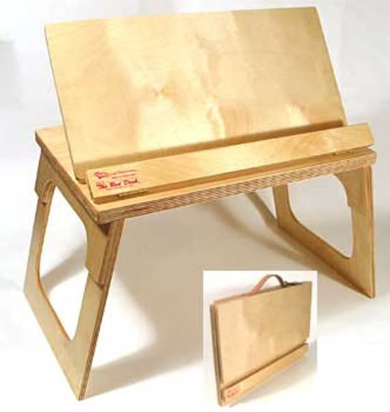 Lap Desk Bookstand Music Stand Art Easel Cookbook Craft Table