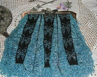 Sierra Beaded Bag Purse Pattern