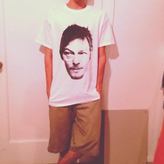 daryl dixon walking dead characters t-shirt