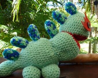 Chomposaurus crochet monster