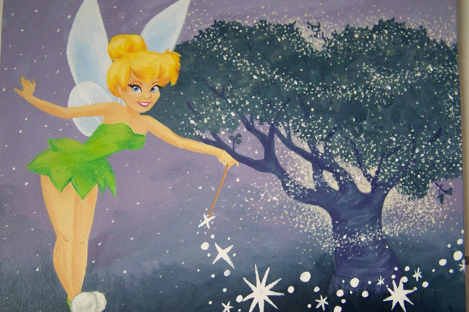 Tinkerbell painting | Etsy