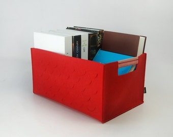 Felt Storage Bin Organize Case Box Container Basket Living Room Felt Organizing Bag Custom Made  E986
