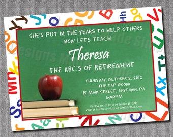 Teacher retirement | Etsy