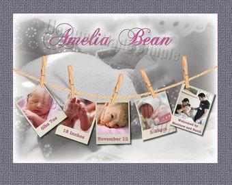 Babys First Alphabet Book Baby Shower Activity