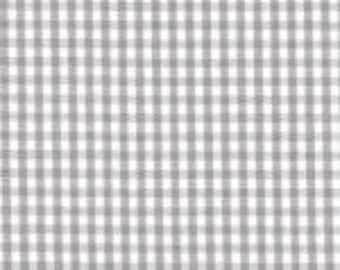 "HALF YARD 1/16"" GRAY Fabric Finders Gingham"