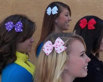 MAGNETIC pinwheel hair bow