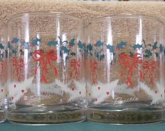 Vintage Panache by Dema  Christmas Glasses