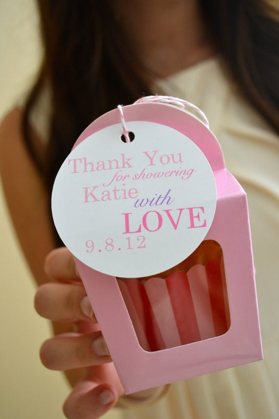 Wedding Favor Tags Messages : Items similar to Baby or Bridal Shower Favor Tags (70) on Etsy