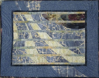 Art Quilt / Fabric Art / wall hanging