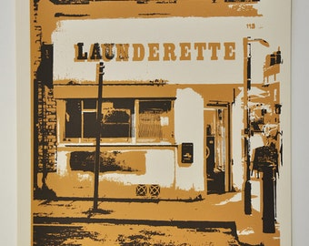 London I - limited edition Artprint/screenprint on paper (24x30cm)