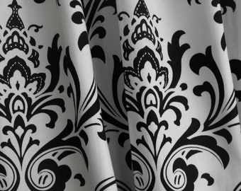 Window curtains, Black and white, Valances, Home decor, panels, Drapes, Draperies