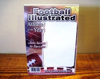 Football Magazine Picture Frame