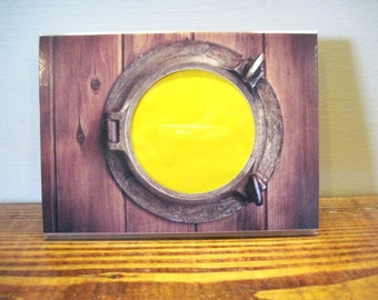 Boat Porthole Picture Frame