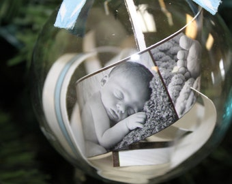Personalized Baby Ornament-Baby's First Christmas