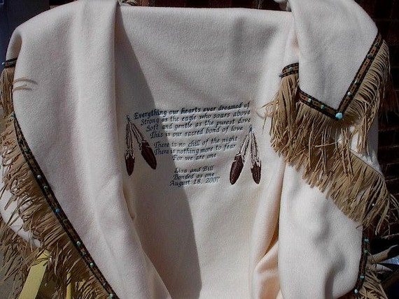 Cherokee Wedding Blanket