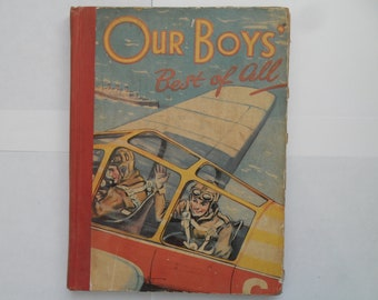 Vintage Our Boys Best Of All Annual 1949