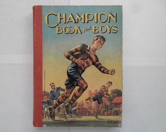 Vintage Champion Book For Boys Annual 1947