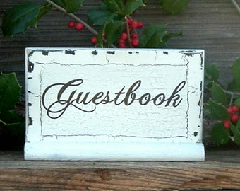 Guestbook Wedding Sign Wood Wedding Sign