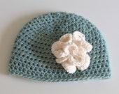 Organic Baby Girl Hat