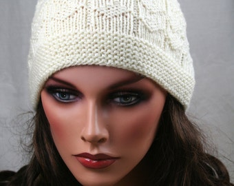 Hand knitted Hat, Beanie, Ready to ship