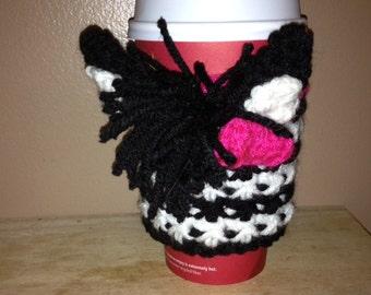 Cute Zebra Coffee Cozy