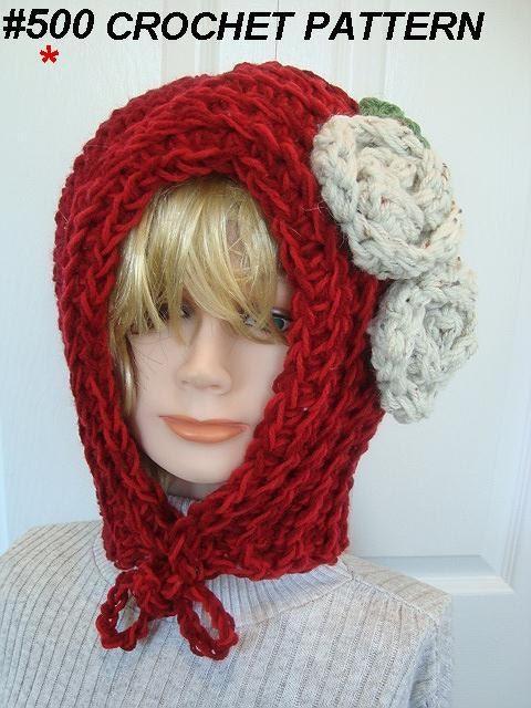 Crochet Hat Pattern Teenager : HAT PATTERN CROCHET women baby teens children hood num.