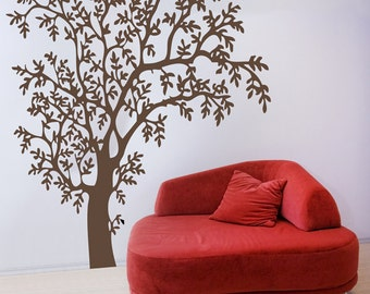 O'Nature - Wall Decal - Brown - H77 x W59