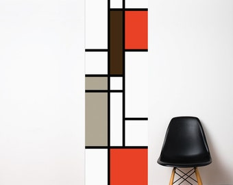 Mondrian - Wallpaper - Color Print