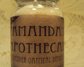 Lavender Oatmeal Detox Soak - 4 oz