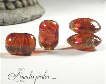 Handmade lampwork beads, Artisan, SRA (4)