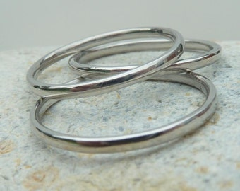 Platinum wedding band, platinum wedding ring