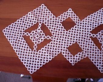 Crochet Ringed Doilies