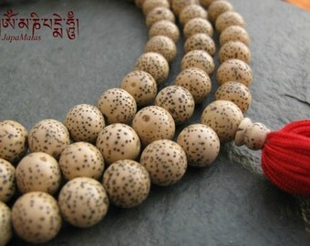 Lotus seed Japa Mala 108 beads mala purified & blessed mala