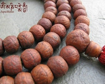 Bodhi seed Japa Mala 108 beads mala purified & blessed mala