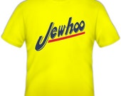 Holiday T-Shirt: Jewhoo Official Yellow T-Shirt for Adults