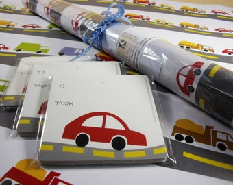 4 Trucks & Cars Wrapping Papers