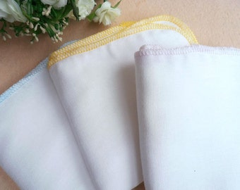 3 Layer Gentle Facial Muslin Cloth - 3 pack