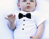 Tuxedo Bowtie Children's Onesie Bodysuit