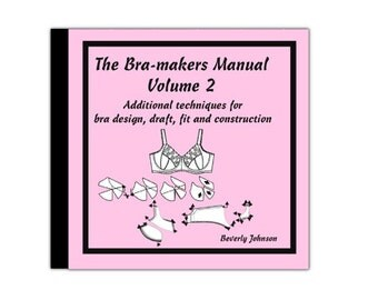 Bra-makers Manual Vol. 2 on CD