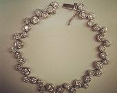 Sterling Silver Cubic Zirconia (CZ) Bracelet
