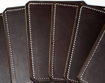 Super quality genuine leather drinks coaster