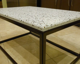 FREE SHIPPING! - Concrete coffee table - made to order