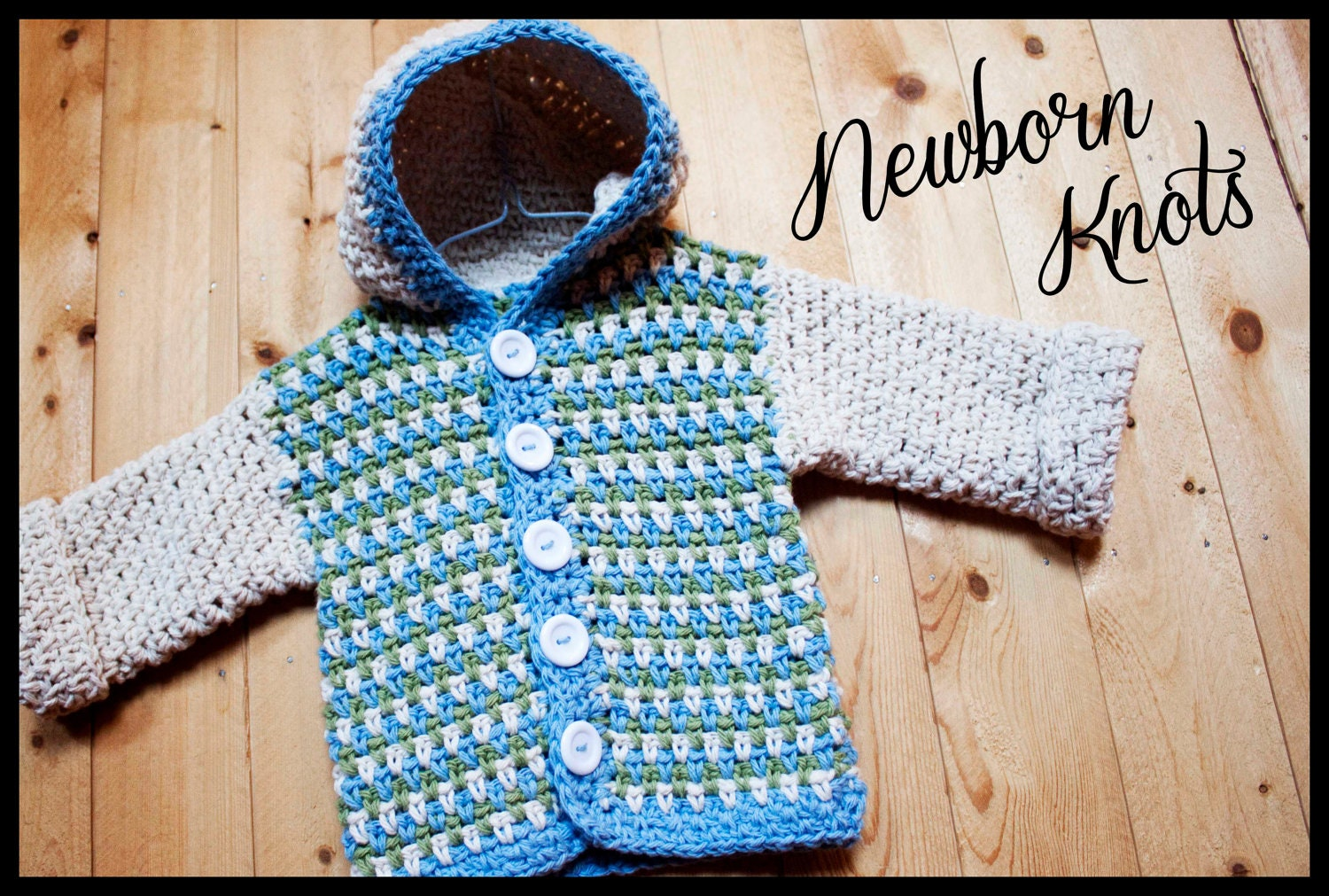 Crochet pattern for baby boy or girl sweater with hoodie zoom bankloansurffo Choice Image