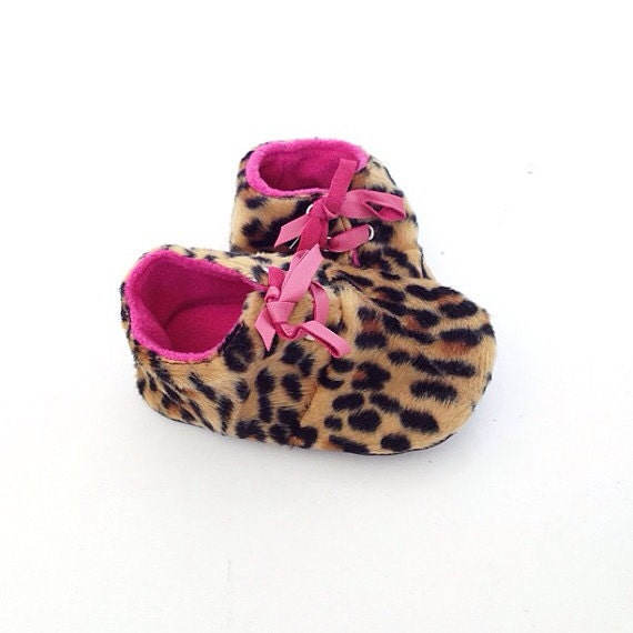 Months Slippers Baby Shoes Lamb Leather Pastel